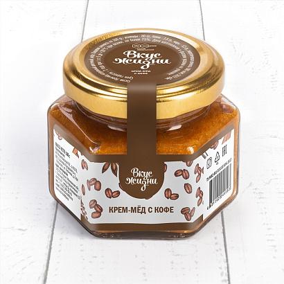 Крем-мёд с кофе Вкус Жизни New 100 гр.