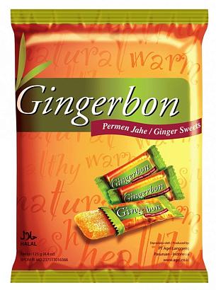 Конфеты имбирные мармеладные Ginger Sweets Gingerbon 125 гр.